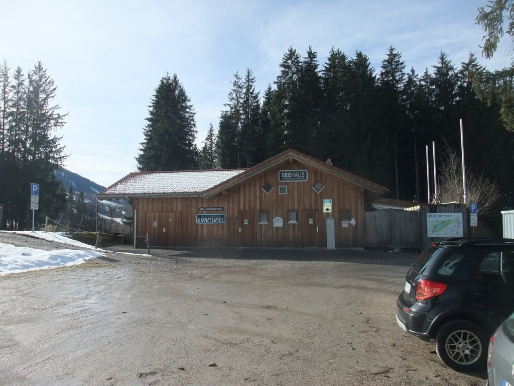 Seehaus mit Klettergarten