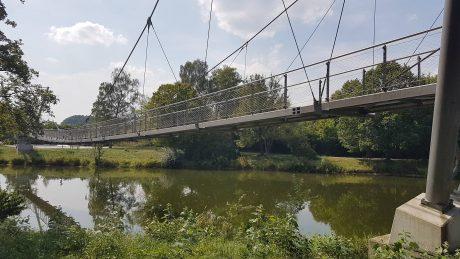 Hängebrücke vor Sigmaringen